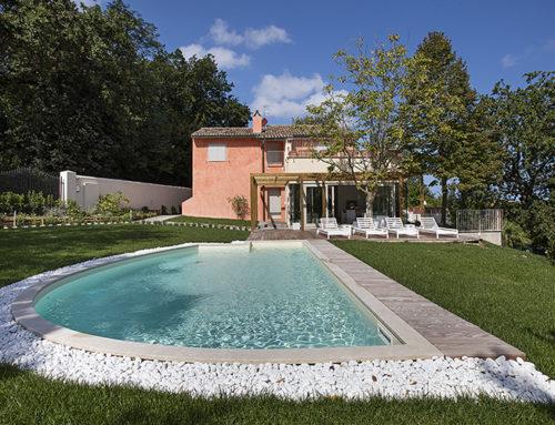 Restructuring Casa Colonica Parco del Conero